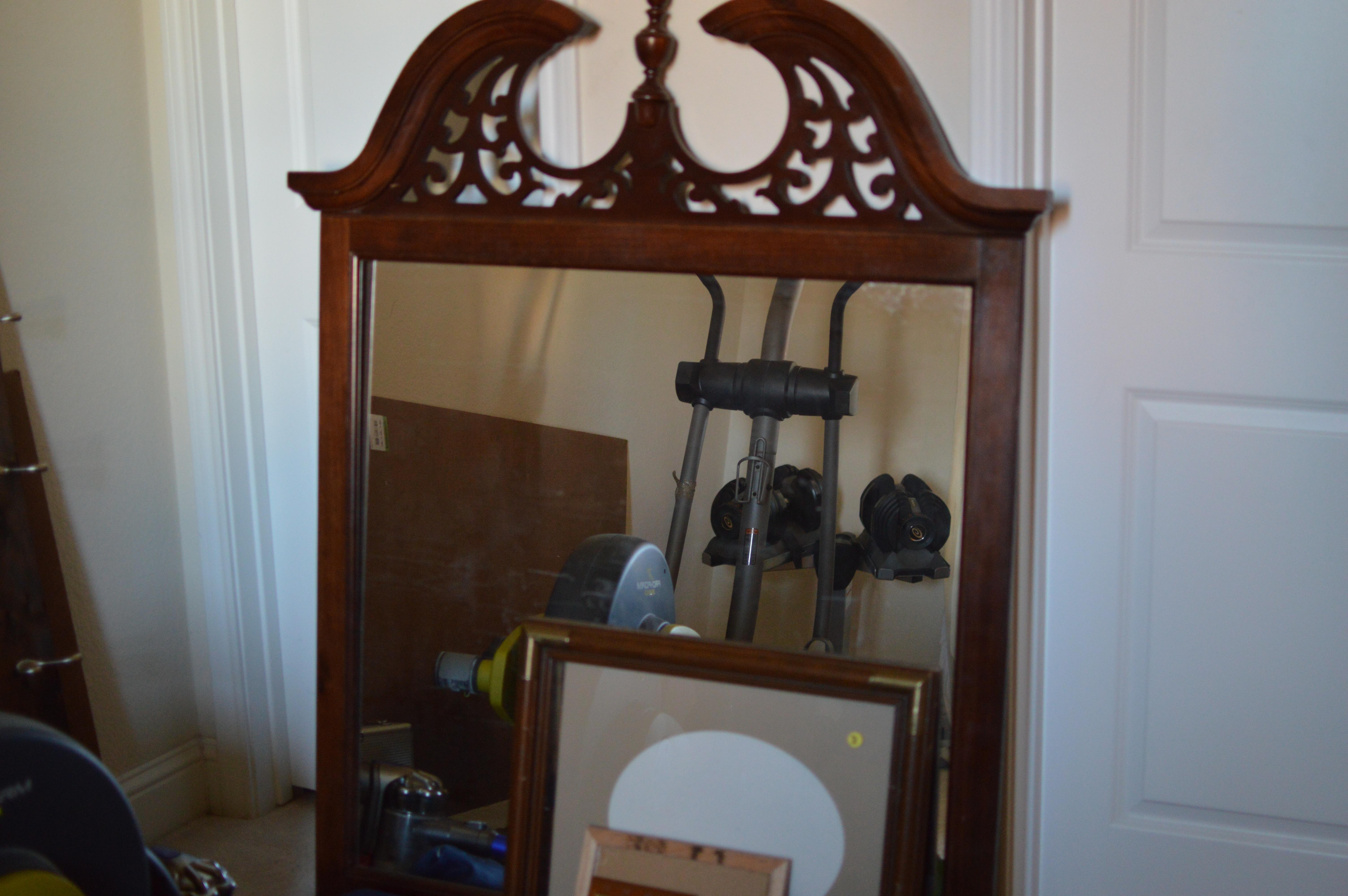 Diy Mirror Coat Rack Pb Entryway Organizer Mirror